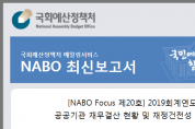NABO 최신 보고서
