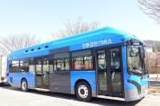 대구 첫 친환경 전기시내버스 25일부터 노선운행 개시