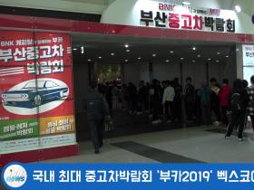 국내 최대 중고차박람회 '부카2019' 벡스코에서 19일 개막