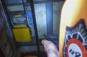 전동휠체어, 지하철역 승강기내 추락