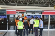 부산강서소방서, 안전UP, 사고ZERO화 도시철도 인명구조훈련