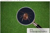 중증열성혈소판감소증(SFTS)확진 환자발생!