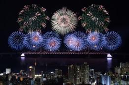 110만 여명 운집한 부산광안대교 제14회 불꽃 축제